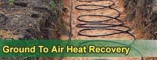 Ground to Air heat recovery
