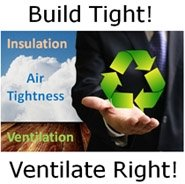 build tight ventilate right