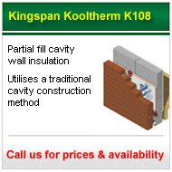call for the best prices on Kingspan Kooltherm K108